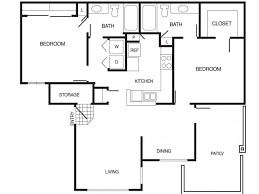 two bedroom floor plans 2 bed 2 bath apartment in chandler az country brook country