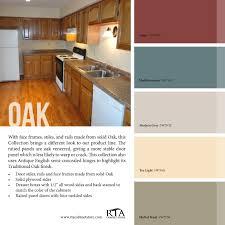 colors to paint oak kitchen cabinets kitchen decoration