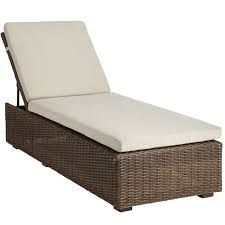 Outdoor Chaise Lounge Sofa by Echo Beach Latte Chaise Lounge Pier 1 Imports