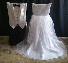 and groom chair covers wedding chair covers david table linens co
