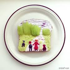 Plate Decorating Ideas For Desserts Food Decoration Art And Design Ideas Creating Colorful Snacks