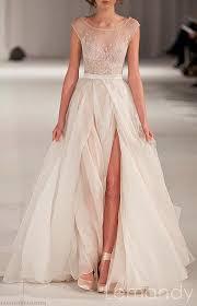 wedding dress etsy illusion neckline wedding dress etsy bridalblissonline