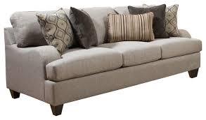 Simmons Sleeper Sofa by Simmons Upholstery Queen Sleeper Sofa Transitional Sleeper