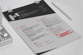 Best Resume Templates Psd by Resume Template 40 Best Free Modern Cv Psd Ai Indesign Templates