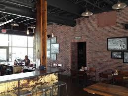 blatt beer and table menu cool bricks very bright and open picture of blatt beer table