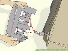 How To Replace Tail Light How To Replace A Tail Brake Or Reverse Light 8 Steps