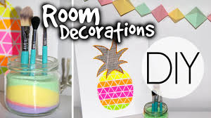 Room Decor Diys Diy Summer Room Decorations Youtube