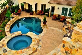 bedroom handsome backyard landscaping ideas swimming pool design