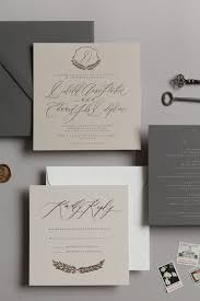 Custom Designed Wedding Invitations Written Word Calligraphy And Design