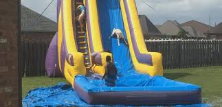 backyard water slide for adults home outdoor decoration