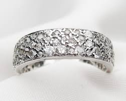 vintage white gold wedding bands isadoras antique jewelry