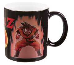 dragon ball super saiyan heat changing mug