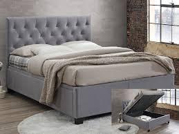 Birlea Ottoman Cologne King Size Grey Fabric Ottoman Bed Frame
