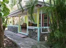 Cane Garden Bay Cottages Tortola - lime leaf cottage vacation bungalow for rent in east end