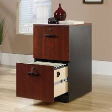 Wood Locking File Cabinet by Furniture Two Drawer File Cabinet Using The Contemporary Style