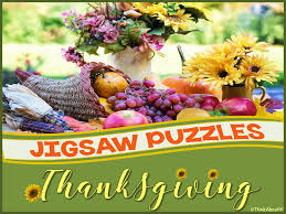 thanksgiving thanksgiving day jigsaw puzzles by think about it