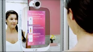 the bathroom mirror gets smart techcrunch