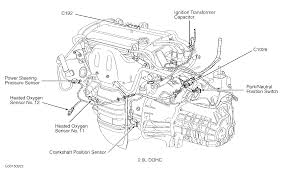 where is the crankshaft position sensor located on 03 focus