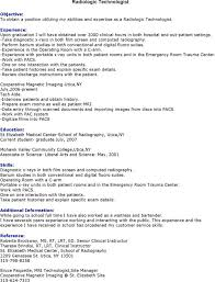 radiologic technologist resume skills mri technologist resume resume cv cover letter