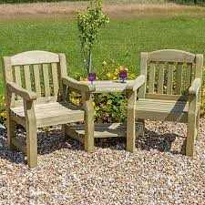 zest 4 leisure emily wooden companion love seat garden double