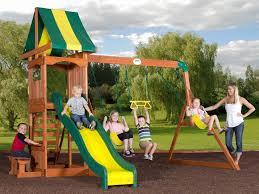 Diy Backyard Swing Set Home Decor Slide For Swing Set Playground Design Steel Sets
