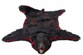 black bear rug 74