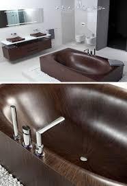 Wood Bathtubs Gorgeous Grain Wooden Bathtubs Really Go With The Flow