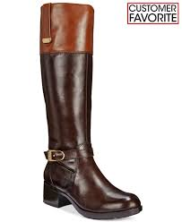 womens boots york bandolino baya boots in brown lyst