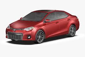 toyota car models 2014 3d model 2014 toyota corolla cgtrader