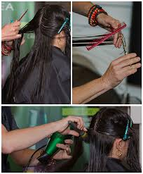 hair styles cut hair in layers and make curls or flicks how to 2 long layered haircuts with steps by frank barbosa