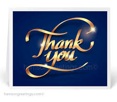 cards for business blue thank you cards for business 12101 harrison greetings