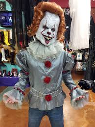 clown costume pennywise the clown costume and mask stagecoach