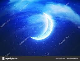 abstract crescent moon stock photo artshock 170758638