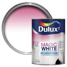 Do You Paint Ceiling Or Walls First by Dulux Magic Pure Brilliant White Matt Emulsion Paint 5l