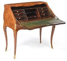 bureau en c1765 a louis xv ormolu mounted kingwood bureau en dos d ane circa