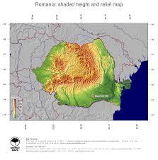 Romania Map Map Romania Ginkgomaps Continent Europe Region Romania