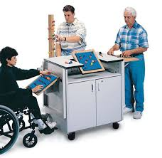 hausmann hand therapy table hausmann horseshoe therapy table 72x48x26 34i each model 6674