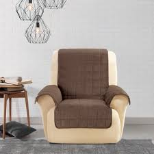Wing Chair Cover Recliner Covers U0026 Wing Chair Slipcovers Shop The Best Deals For