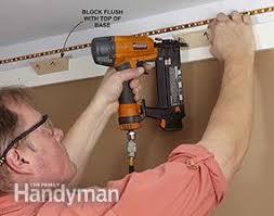 how to build cove lighting how to install elegant cove lighting family handyman