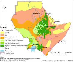 Africa Population Map by Ies U003e Espa U003e Envirosecurity Assessments U003e Horn Of Africa U003e Maps