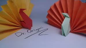 diy origami turkey model 2 easy tutorial