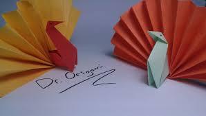 diy origami turkey model 2 easy tutorial