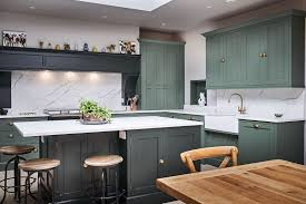 spray painting kitchen cabinets scotland kitchen painted in farrow studio green and