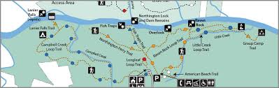 parks map maps and brochures nc state parks