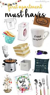 first apartment must haves apartments college and students