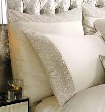 kylie minogue cream square pillowcase designer bedding