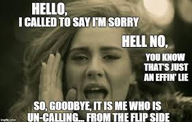 Hell No Meme - the flip side imgflip