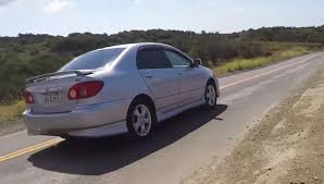 toyota corolla 2005 xrs the performance spec toyota corolla you never knew existed rip