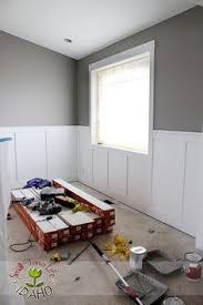 Where To Put Wainscoting In The Home Diy Board And Batten Wainscoting The Home Depot Home Entryway