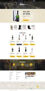 Kosher Champagne Website Template 57580 Wine Store Production Custom Website
